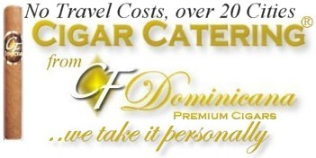 Cigar Catering from CF Cigars